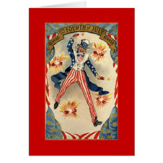 Vintage Uncle Sam Card