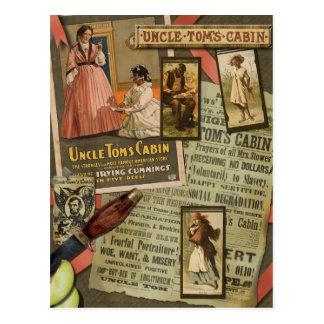 Vintage Uncle Tom's Cabin Scrapbook Postcard