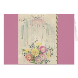 "Vintage ""Under The Weather"" Card"