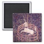 Vintage Unicorn In Captivity Tapestry Fridge Magnets