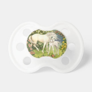 Vintage Unicorns Pacifier