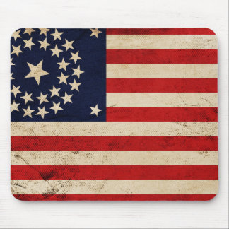 Vintage Union Flag Mouse Pad
