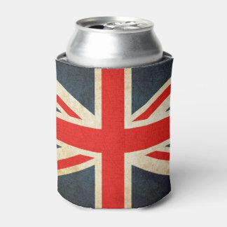 Vintage Union Jack British Flag Can Cooler
