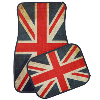 Vintage Union Jack British Flag Car Floor Mat