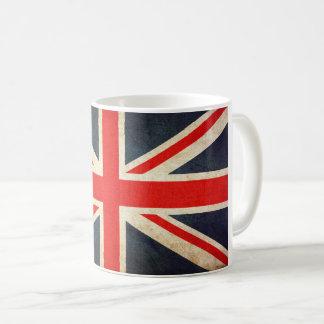 Vintage Union Jack British Flag Ceramic Coffee Mug