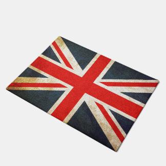 Vintage Union Jack British Flag Door Mat