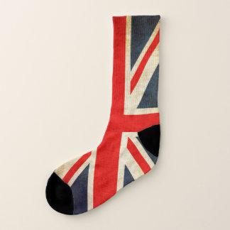 Vintage Union Jack British Flag Socks 1