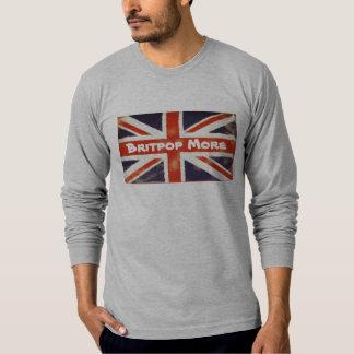 Vintage Union Jack BRITPOP MORE Long SleeveT-Shirt T-Shirt