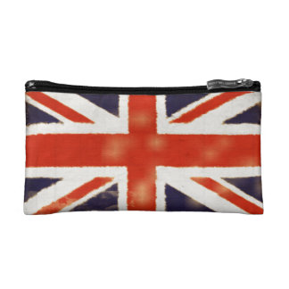 Vintage Union Jack Cosmetic Bag