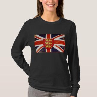 Vintage Union Jack England Coat Of Arms T-Shirt