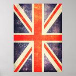 Vintage union Jack flag
