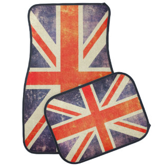 Vintage Union Jack flag Car Mat