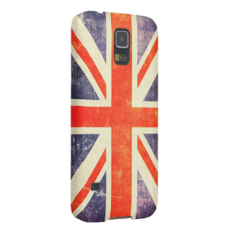 Vintage Union Jack flag Galaxy S5 Covers