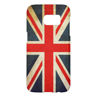 Vintage Union Jack Flag Samsung Galaxy S7 Case
