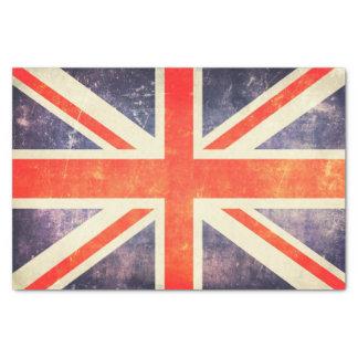 Vintage Union Jack flag Tissue Paper