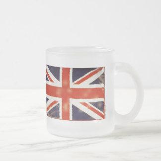 Vintage Union Jack Frosted Tea Mug