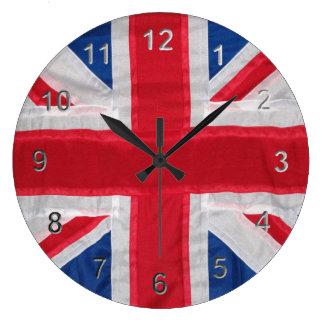 Vintage Union Jack Large Clock