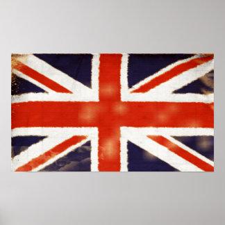 Vintage Union Jack Poster