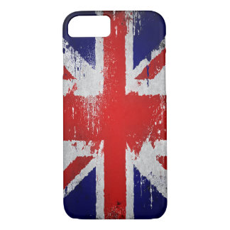 vintage union jack uk flag design iphone-7 case