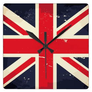 Vintage Union Jack Wall Clock
