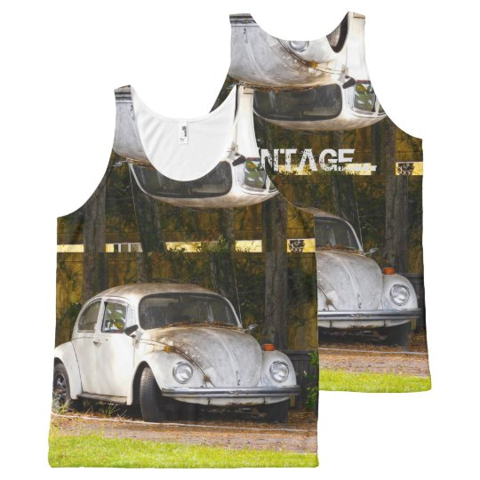 Vintage unisex tank top