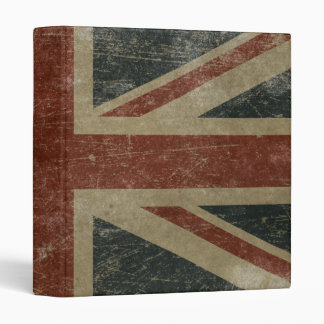 Vintage United Kingdom Flag Binders