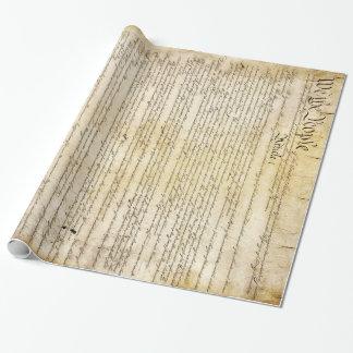 Vintage United States Constitution