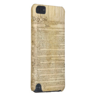 Vintage United States Constitution iPod Touch 5G Cover