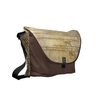 Vintage United States Constitution Messenger Bag