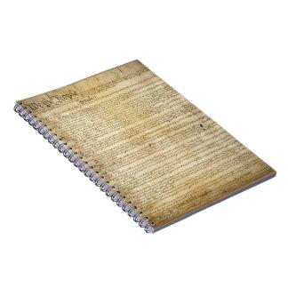 Vintage United States Constitution Notebook