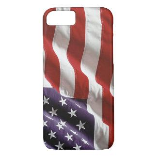 Vintage US Flag 'Flying High' iPhone 7 case