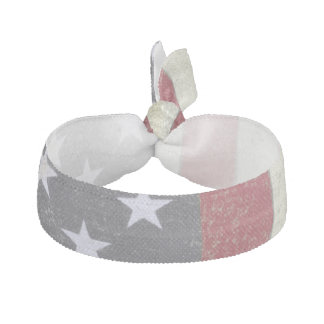 Vintage US Flag Hair Tie