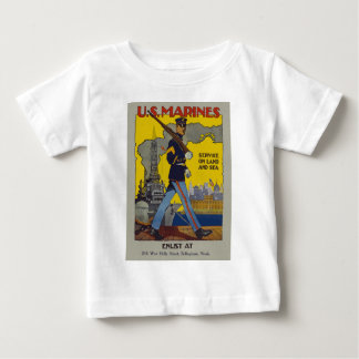 Vintage US Marines Baby T-Shirt