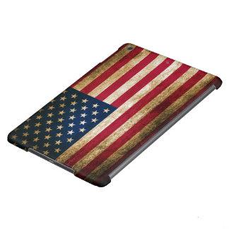 Vintage USA Americana Flag Cover For iPad Air