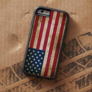 Vintage USA Americana Flag Tough Xtreme iPhone 6 Case