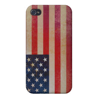 Vintage USA Flag iPhone 4/4s Speck Case iPhone 4 Cover