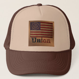 Vintage USA Union Flag 2 Trucker Hat