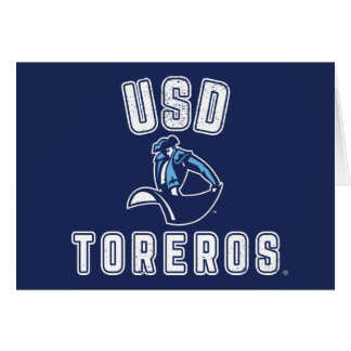Vintage USD Toreros Card