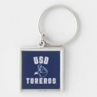 Vintage USD Toreros Keychain