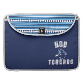 Vintage USD Toreros - Tribal Pattern Sleeve For MacBooks