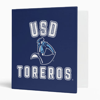 Vintage USD Toreros Vinyl Binders