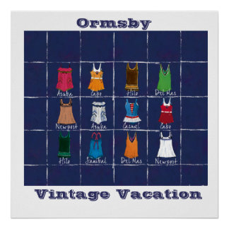 Vintage Vacation - poster