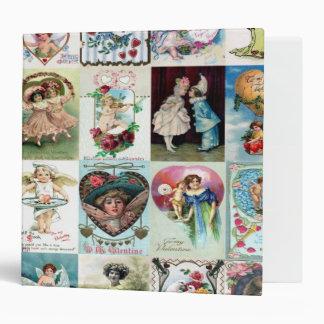 Vintage Valentine Cards Binder