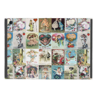 Vintage Valentine Cards Case For iPad Mini