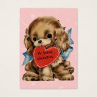 Vintage Valentine Kid Cards