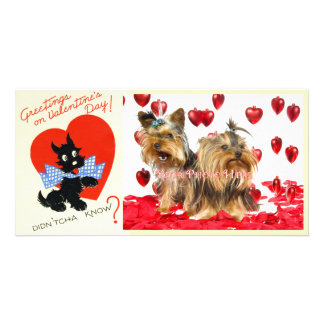 Vintage Valentine Photo Cards! Photo Card Template