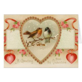 Vintage Valentine s Day Card