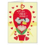 Vintage Valentines Day Card