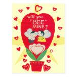 Vintage Valentines Day Card Postcard