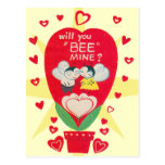 Vintage Valentines Day Card Postcards